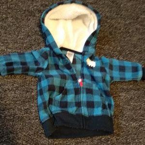 Carter's Fleece Jacket-3M